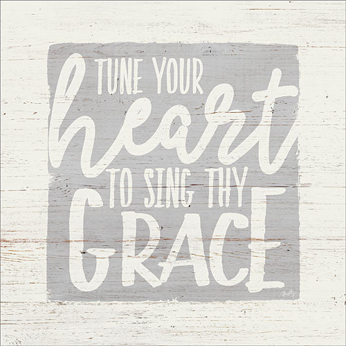 Misty Michelle MMD253 - Tune Your Heart to Sing Thy Grace - Inspirational, Signs, Typography from Penny Lane Publishing