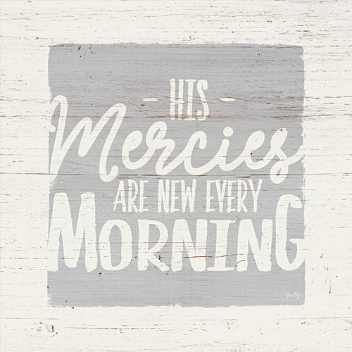 Misty Michelle MMD254 - His Mercies are New Every Morning - Inspirational, Signs, Typography from Penny Lane Publishing