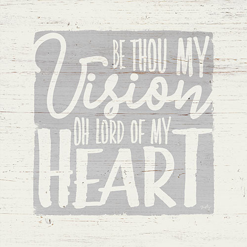 Misty Michelle MMD255 - Vision of My Heart - Inspirational, Signs, Typography from Penny Lane Publishing
