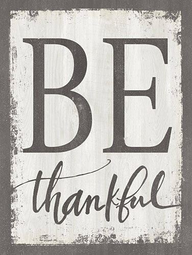 Misty Michelle MMD259 - Be Thankful - Typography, Signs from Penny Lane Publishing