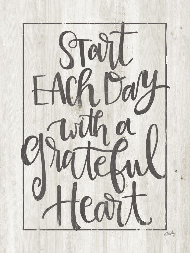 Misty Michelle MMD260 - Grateful Heart - Typography, Signs from Penny Lane Publishing