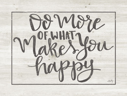 Misty Michelle MMD261 - Makes You Happy - Typography, Signs from Penny Lane Publishing