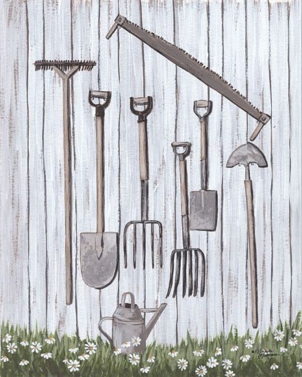 Michele Norman MN282 - MN282 - Behind the Shed - 12x16 Garden Tools, Shed, Garden from Penny Lane