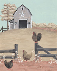 MN283 - In the Barnyard - 16x12
