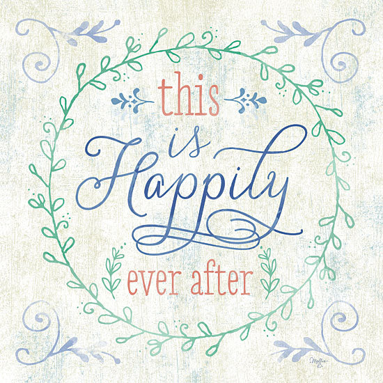 Mollie B. MOL1077 - Happily Ever After - Inspiring, Signs from Penny Lane Publishing