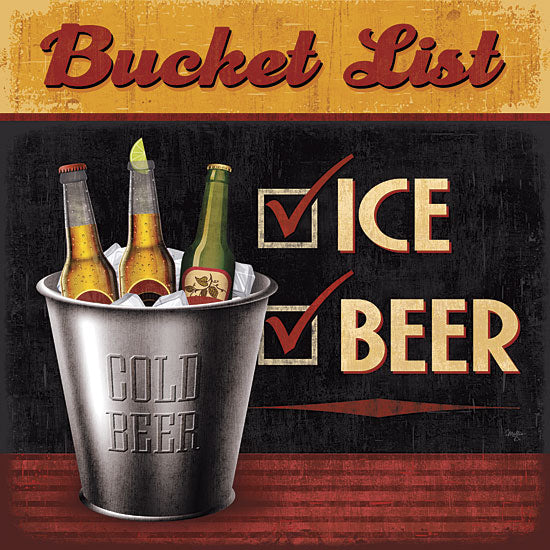 Mollie B. MOL1523 - Bucket List - Beer, Signs, Bar, Bucket from Penny Lane Publishing