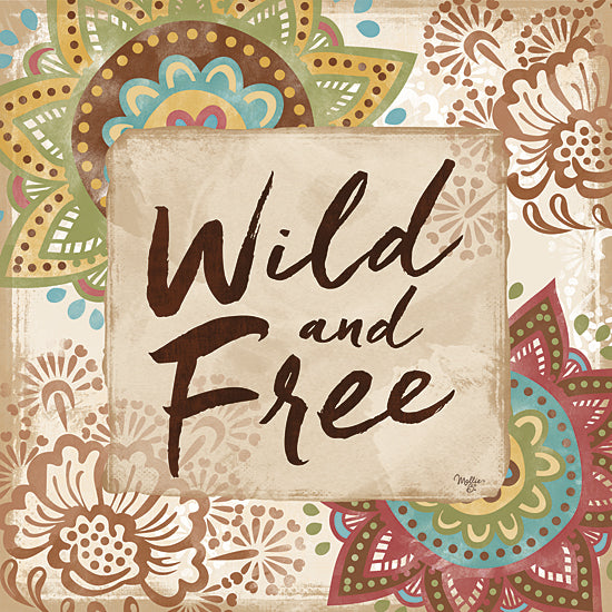 Mollie B. MOL1603 - Wild and Free - Patterns, Tween, Signs from Penny Lane Publishing