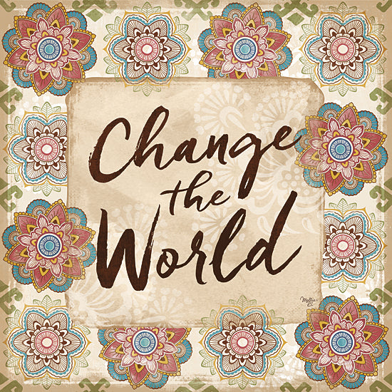 Mollie B. MOL1604 - Change the World - Patterns, Tween, Signs from Penny Lane Publishing