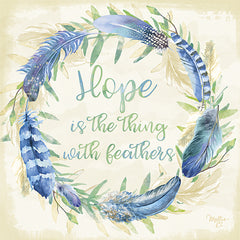 MOL1682 - Hope is the Thing with Feathers - 12x12