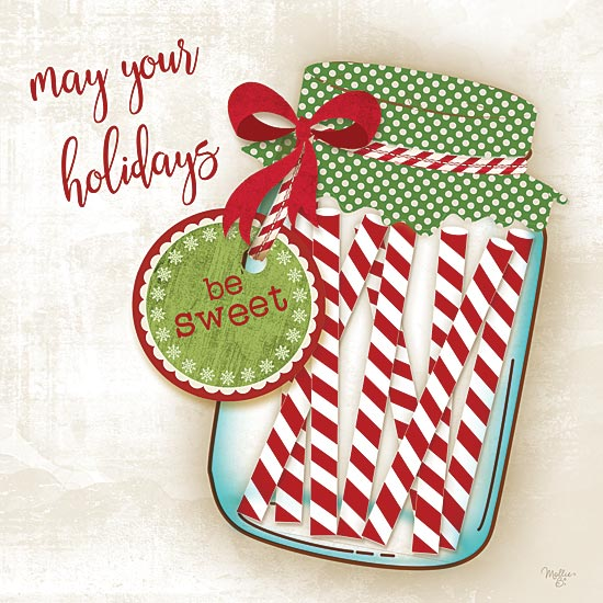 Mollie B. MOL1749 - Candy Canes - Holiday, Candy Canes, Jar, Signs from Penny Lane Publishing