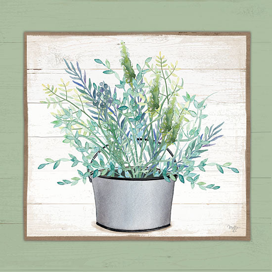 Mollie B. MOL2143 - MOL2143 - Pot of Herbs II - 12x12 Herbs, Pot, Garden from Penny Lane