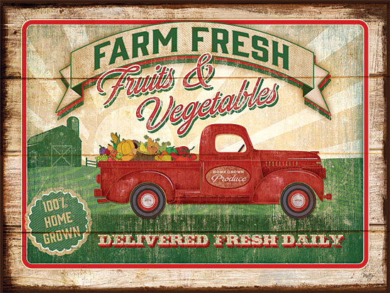 Mollie B. MOL916 - Farm Fresh Produce - Truck, Farm, Fruit, Vegetables from Penny Lane Publishing