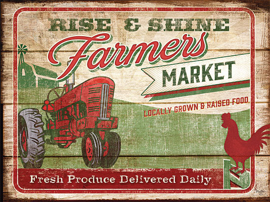 Mollie B. MOL922 - Fresh Produce - Tractor, Farmer's Market, Signs from Penny Lane Publishing