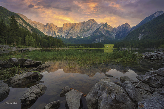 Martin Podt MPP210 - Superiore - Mountains, Lake, Rocks, Nature, Trees from Penny Lane Publishing