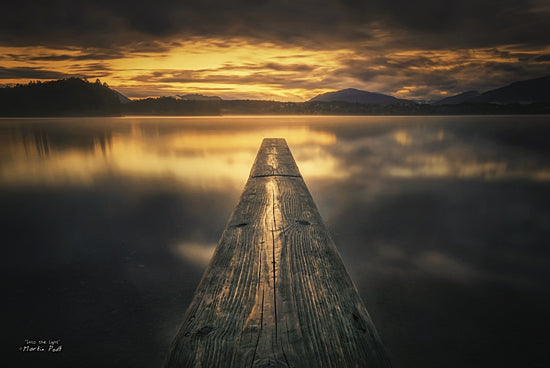 Martin Podt MPP215 - Into the Light - Lake, Plank, Path, Board from Penny Lane Publishing