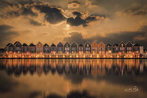 Martin Podt MPP328 - Dutch Classic - Houses, Water, Lights from Penny Lane Publishing