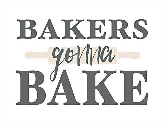 Masey St. Studios MS143 - MS143 - Bakers Gonna Bake - 16x12 Bakers Gonna Bake, Kitchen, Baking,, Signs from Penny Lane