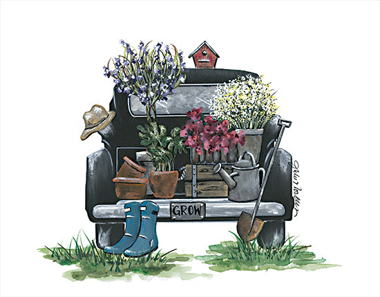 Julie Norkus NOR115 - NOR115 - Feed Your Soul - 16x12 Truck, Truck Bed, Flowers, Garden, Garden Tools, Spring, Summer from Penny Lane