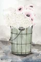 NOR150 - Ice Cream Bucket of Flowers    - 12x18