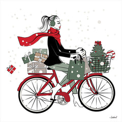 PAV285 - Christmas on Bike - 12x12