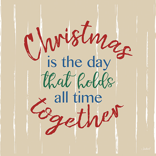 Martina Pavlova PAV317 - PAV317 - Together Quote - 12x12 Signs, Typography, Christmas, Together from Penny Lane