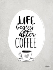 PAV343 - Life Begins After Coffee   - 12x16