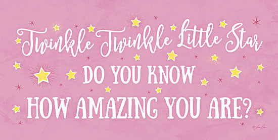 Lauren Rader RAD1147A - Twinkle Twinkle Little Star - Girl - Baby, Girl, Star, Inspirational from Penny Lane Publishing