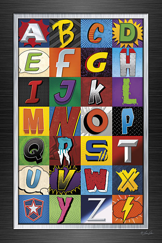 Lauren Rader RAD1154 - Superhero Alphabet - Superhero, Alphabet, Children from Penny Lane Publishing