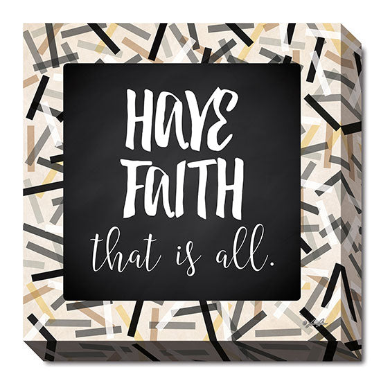 Lauren Rader RAD1160 - Have Faith - Black, Gray, Gold, Signs, Inspirational, Tween, Typography from Penny Lane Publishing