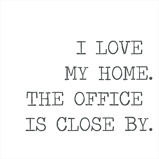 Lauren Rader RAD1358 - RAD1358 - I Love My Home - 16x12 Home Office, Home, Quarantine Art, Signs from Penny Lane