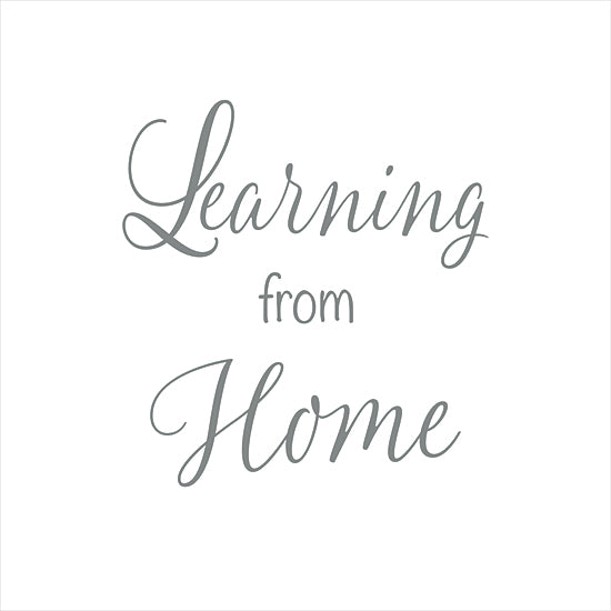 Lauren Rader RAD1363 - RAD1363 - Learning From Home - 12x16 Learning From Home, Quarantine Art, Kid's Art, Signs from Penny Lane