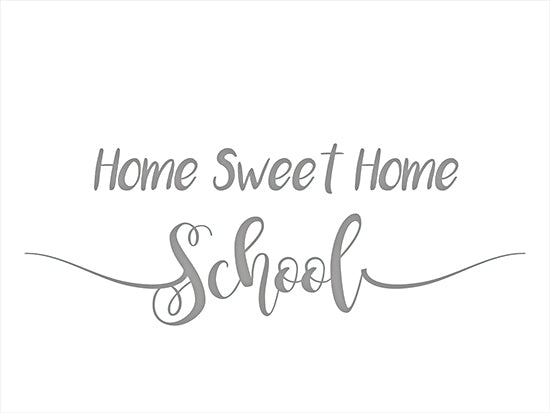 Lauren Rader RAD1369 - RAD1369 - Home Sweet Home School - 16x12 Home Sweet Home School, Children, Quarantine Art, Signs from Penny Lane
