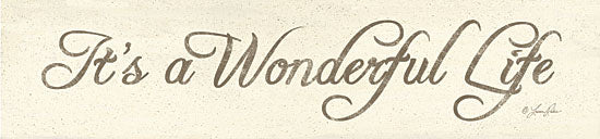 Lauren Rader RAD235 - It's a Wonderful Life - Wonderful, Life, Signs, Holiday from Penny Lane Publishing