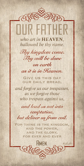 Lauren Rader RAD390 - The Lord's Prayer - Our Father, Prayer, Religious from Penny Lane Publishing