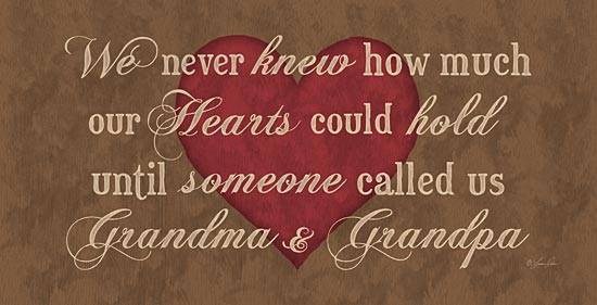Lauren Rader RAD435 - Grandma & Grandpa - Family, Grandpa, Grandma, Love, Heart from Penny Lane Publishing