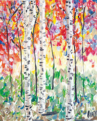 REAR160 - Colorful Birch Forest - 12x16