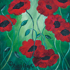 REAR162 - Poppies in Bloom - 12x12