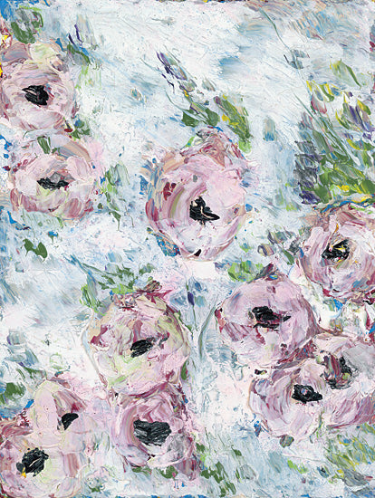Roey Ebert REAR165 - Pink Flowers - Floral, Pink, Abstract from Penny Lane Publishing