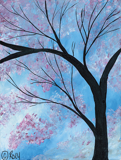 Roey Ebert REAR166 - Cherry Blossoms Tree - Contemporary, Tree, Cherry Blossoms from Penny Lane Publishing