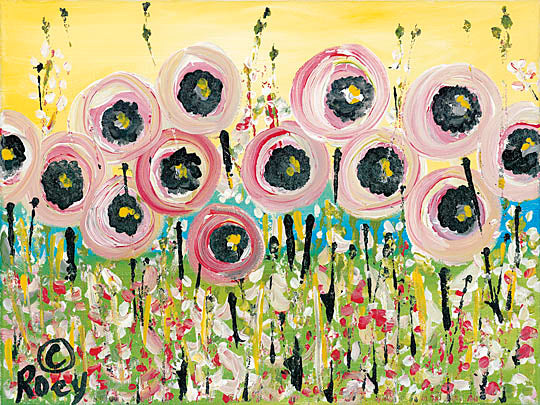 Roey Ebert REAR172 - Abstract Floral - Abstract, Floral, Wildflowers Landscape from Penny Lane Publishing