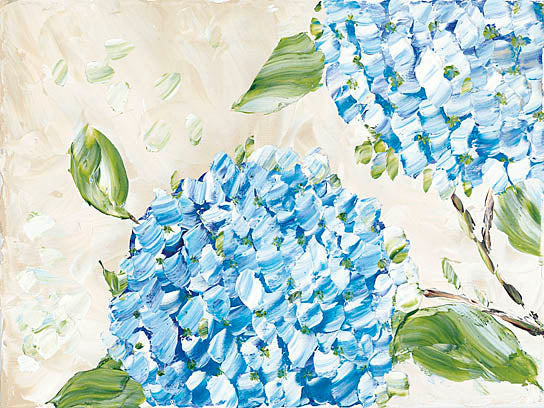 Roey Ebert REAR181 - Blue Hydrangeas II - Contemporary, Floral, Hydrangeas from Penny Lane Publishing
