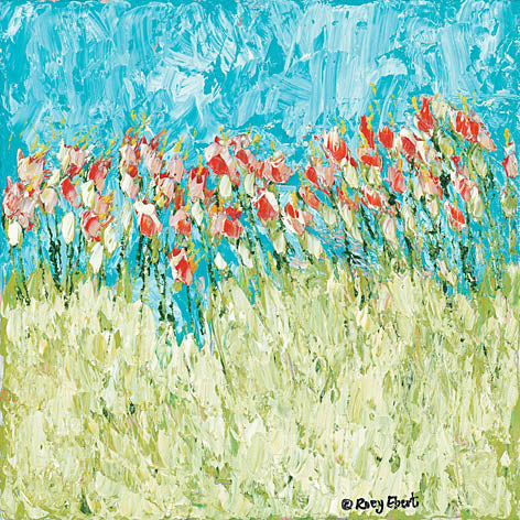 Roey Ebert REAR194 - Abstract Wildflowers - Abstract, Floral, Wildflowers, Landscape from Penny Lane Publishing
