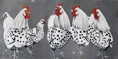 RED122 - Chook, Chook, Chook - 18x9