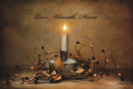 Robin-Lee Vieira RLV121 - Love, Warmth, Home - Candle, Love, Home from Penny Lane Publishing