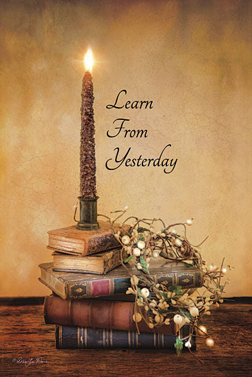 Robin-Lee Vieira RLV160 - Learn From Yesterday - Candle, Books, Dried Flowers from Penny Lane Publishing