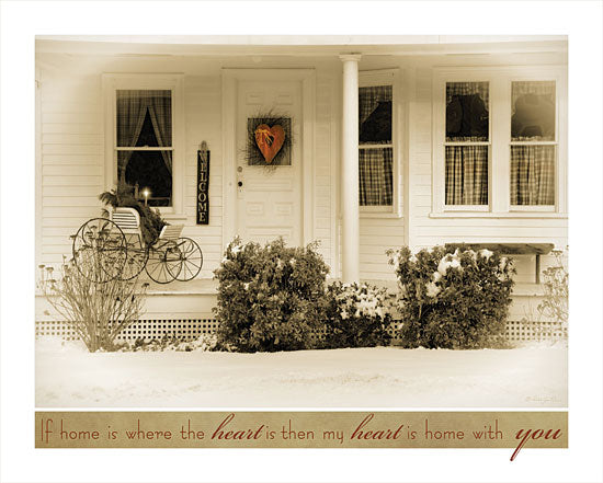Robin-Lee Vieira RLV234 - My Heart is Home With You - Front Porch, Snow, Winter, Country from Penny Lane Publishing