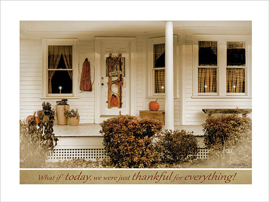 Robin-Lee Vieira RLV301 - Thankful for Everything - Front Porch, Pumpkins, Thankful, Autumn from Penny Lane Publishing