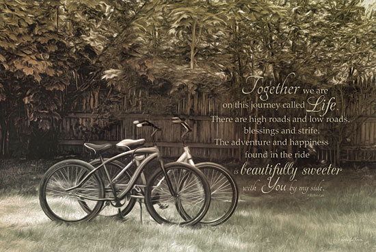Robin-Lee Vieira RLV403 - Journey Together - Bicycle, Together, Inspirational from Penny Lane Publishing