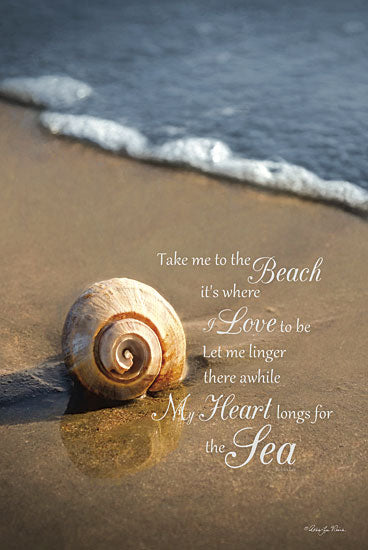 Robin-Lee Vieira RLV420 - Take Me to the Beach - Shell, Beach, Coast, Ocean, Sand, Inspirational from Penny Lane Publishing