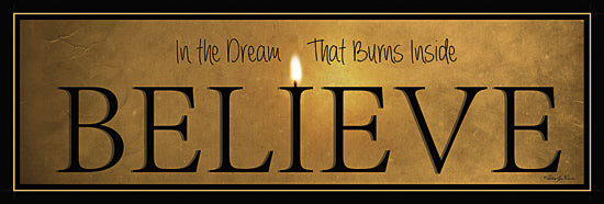 Robin-Lee Vieira RLV495 - Believe - Candle, Signs, Believe from Penny Lane Publishing